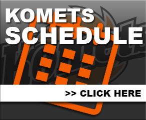 Komets Schedule