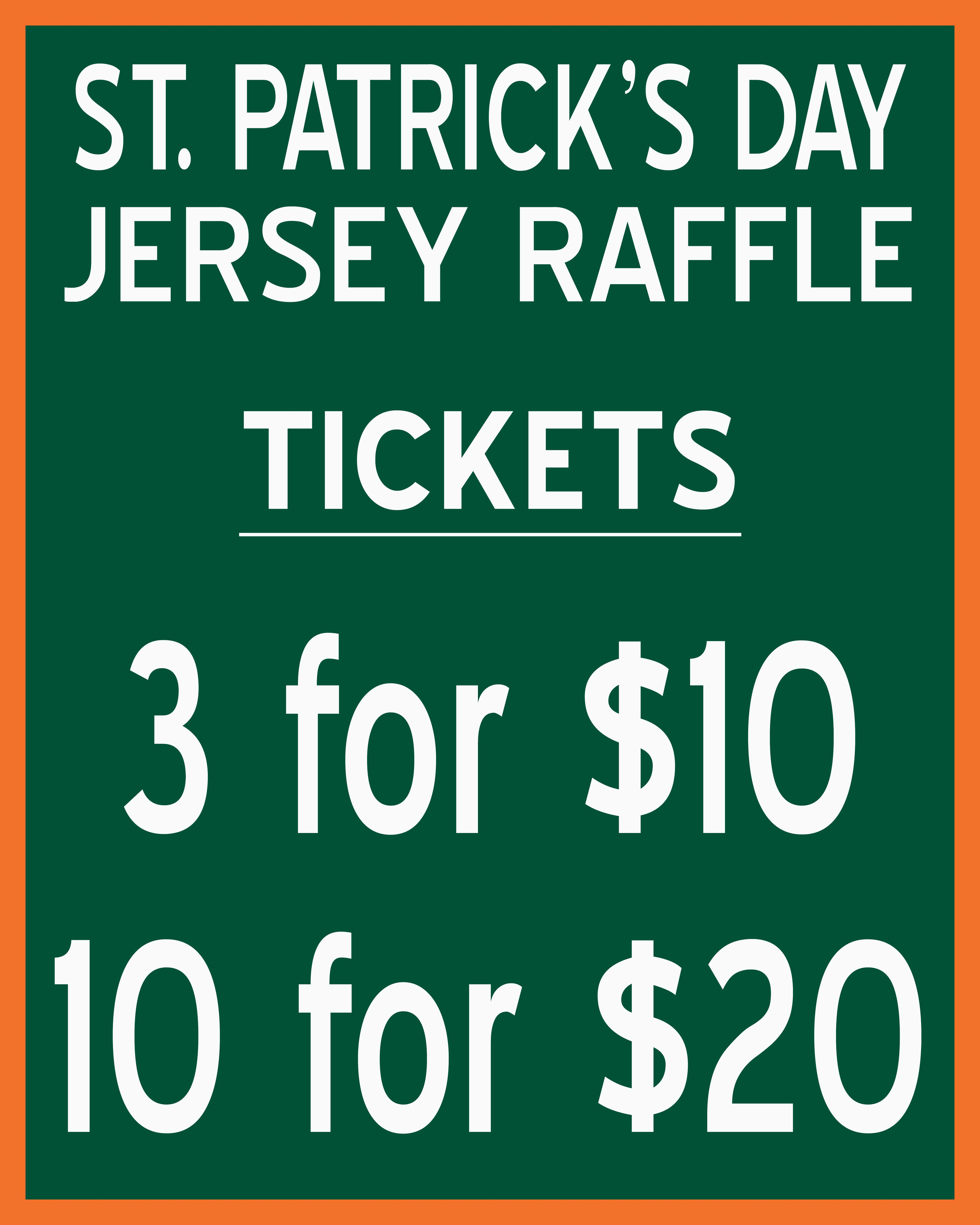 fort wayne st patricks day game select jerseys will be available for silent auction all proceeds benefitting