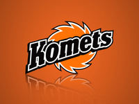 Komets Logo - Orange
